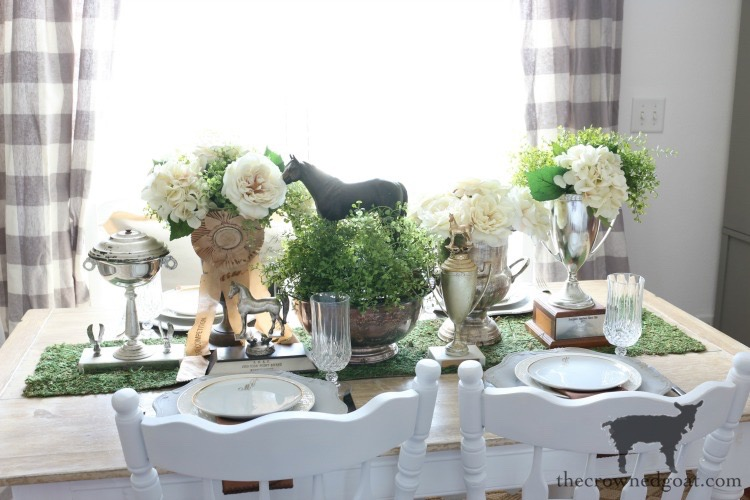 Kentucky-Derby-Tablescape-The-Crowned-Goat-15 Kentucky Derby Tablescape Decorating DIY