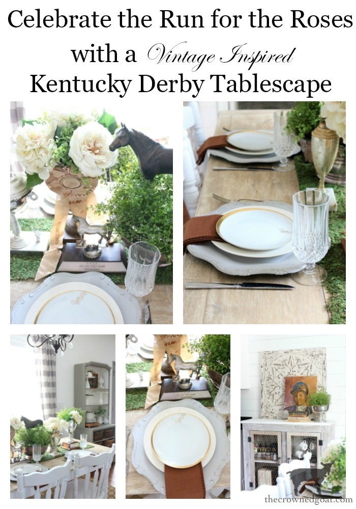 Kentucky-Derby-Tablescape-The-Crowned-Goat-18 Kentucky Derby Tablescape Decorating DIY