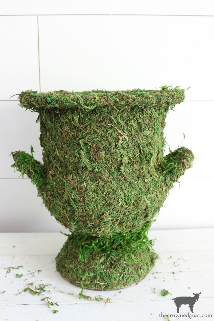 DIY-Moss-Covered-Urn-The-Crowned-Goat-12 DIY Moss Covered Urn & Spring Tea Party Hop Decorating DIY Spring
