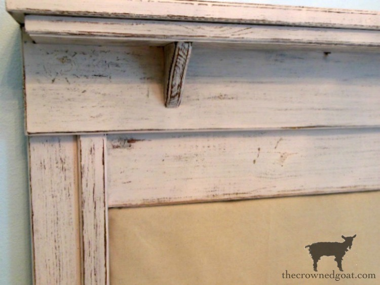 French-Country-Headboard-Makeover-The-Crowned-Goat-2 French Country Headboard Makeover Decorating DIY