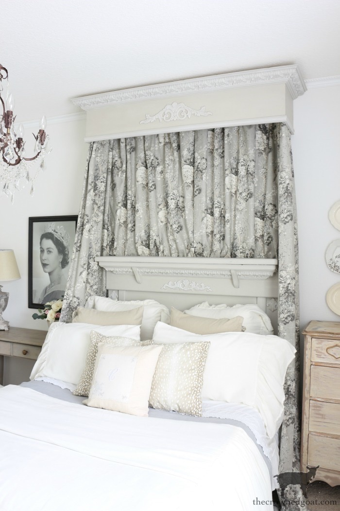 How-to-Sew-Bed-Crown-Panels-The-Crowned-Goat-1 How to Sew Bed Crown Curtain Panels Decorating DIY One_Room_Challenge