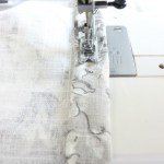 How to Sew Bed Crown Curtain Panels