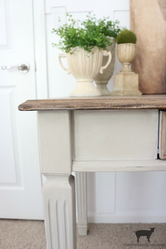 Home-Office-Desk-Makeover-The-Crowned-Goat-14 Home Office Desk Makeover Decorating DIY Painted Furniture