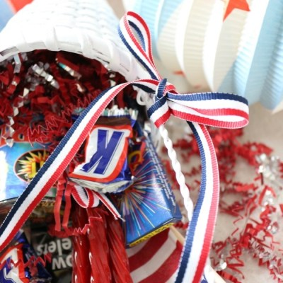 Quick & Easy Patriotic Party Cones