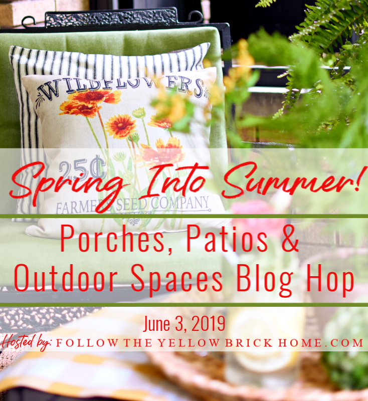 Spring-into-Summer-Graphic Spring into Summer Porch Tour and Blog Hop Decorating DIY Summer