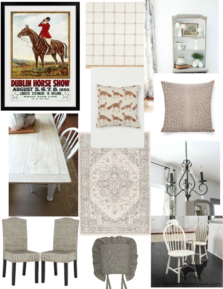 Breakfast-Nook-Makeover-Plans-The-Crowned-Goat-6 Breakfast Nook Refresh Plans Decorating DIY
