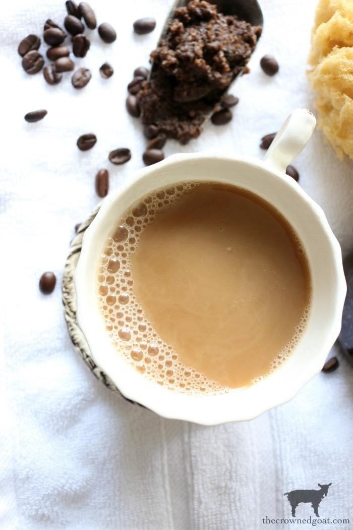 Cinnamon-Vanilla-Latte-Brown-Sugar-Scrub-The-Crowned-Goat-1 Cinnamon and Vanilla Latte Brown Sugar Scrub Crafts DIY Holidays