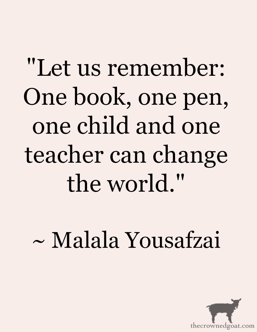 Malala-Yousafzai-Quote-6 From the Front Porch From the Front Porch