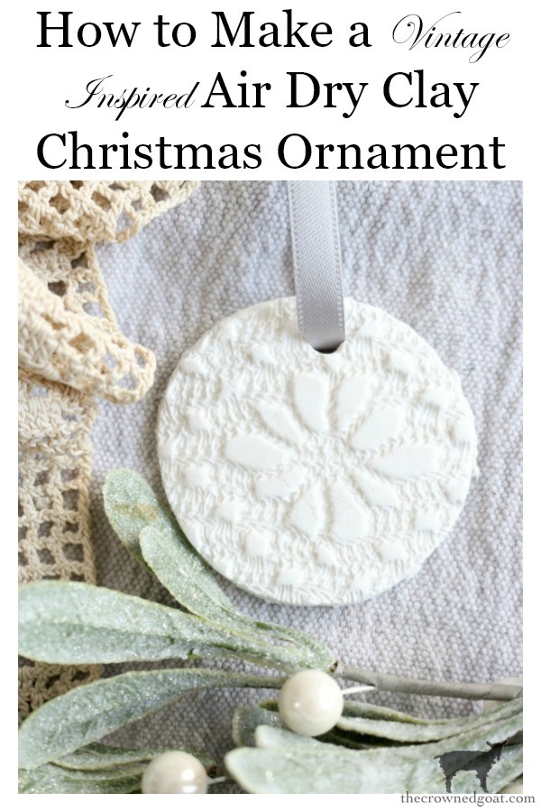 Vintage-Inspired-Air-Dry-Clay-Ornaments-The-Crowned-Goat-18 Vintage Inspired Air Dry Clay Ornaments Christmas Crafts Decorating Holidays