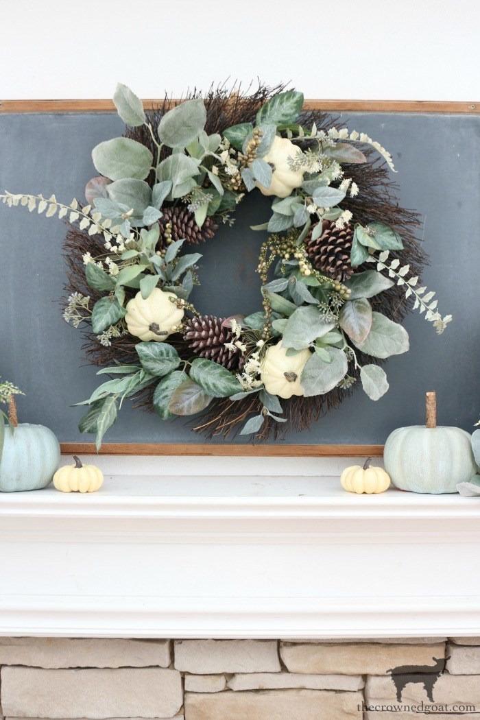 Creating-an-Easy-Fall-Mantel-The-Crowned-Goat-4 5 Steps to Creating an Easy Fall Mantel Fall