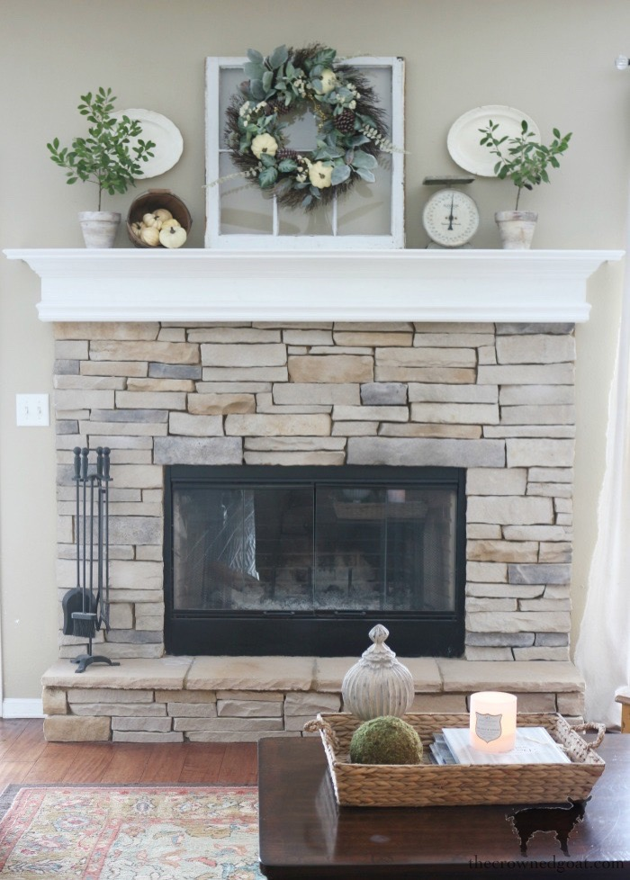 Creating-an-Easy-Fall-Mantel-The-Crowned-Goat-9 5 Steps to Creating an Easy Fall Mantel Fall