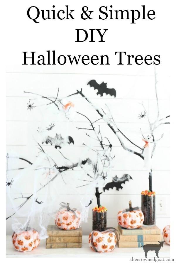 DIY-Halloween-Tree-The-Crowned-Goat-19 DIY Halloween Trees Crafts Fall Holidays