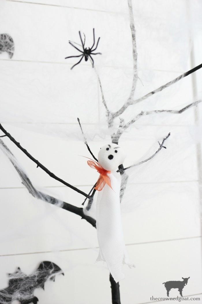DIY-Halloween-Tree-The-Crowned-Goat-2 DIY Halloween Trees Crafts Fall Holidays