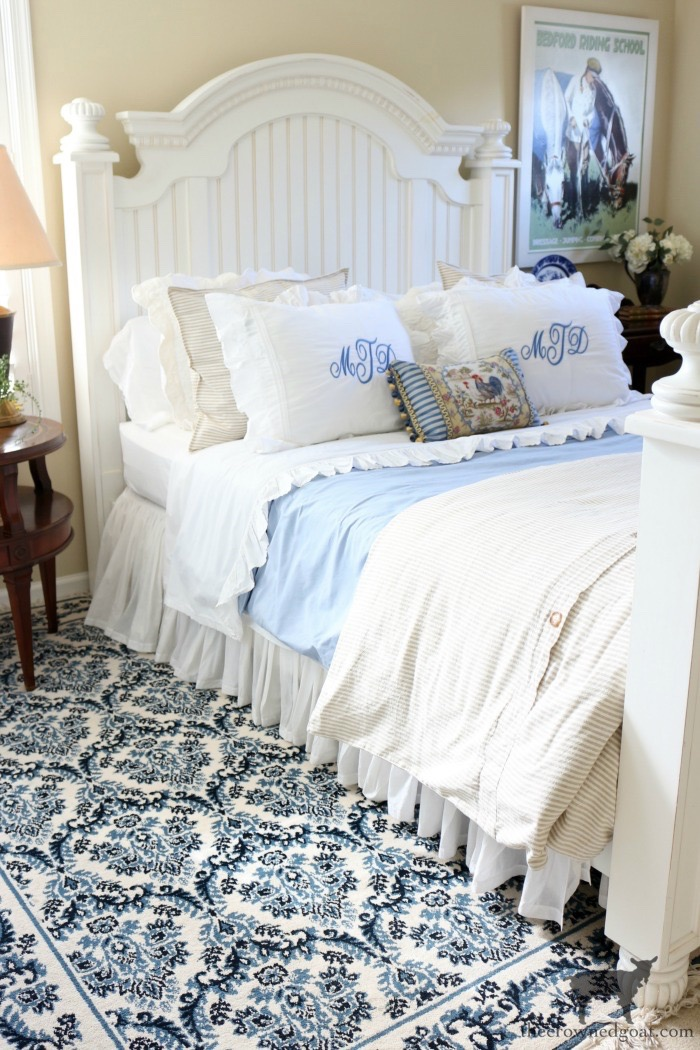 Blue-and-White-Guest-Bedroom-Refresh-The-Crowned-Goat-19-1 From the Front Porch From the Front Porch