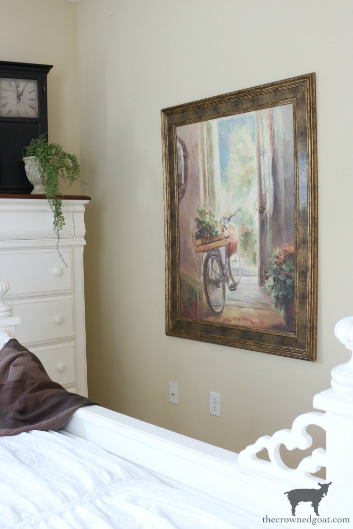 Blue-and-White-Guest-Bedroom-Refresh-The-Crowned-Goat-7 Blue and White Guest Bedroom Refresh Bliss Barracks Decorating DIY