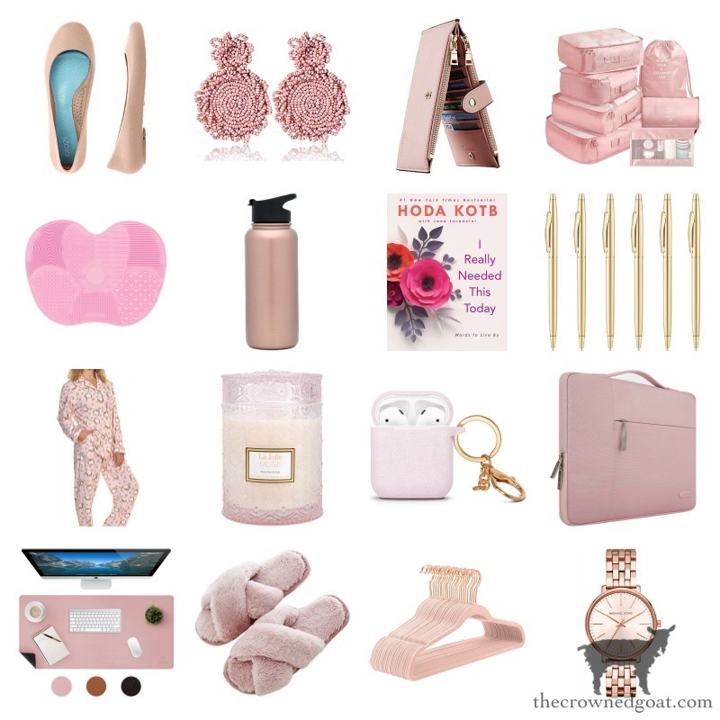 Blush-and-Pink-Gift-Guide Our Best Holiday Gift Guides Christmas Holidays