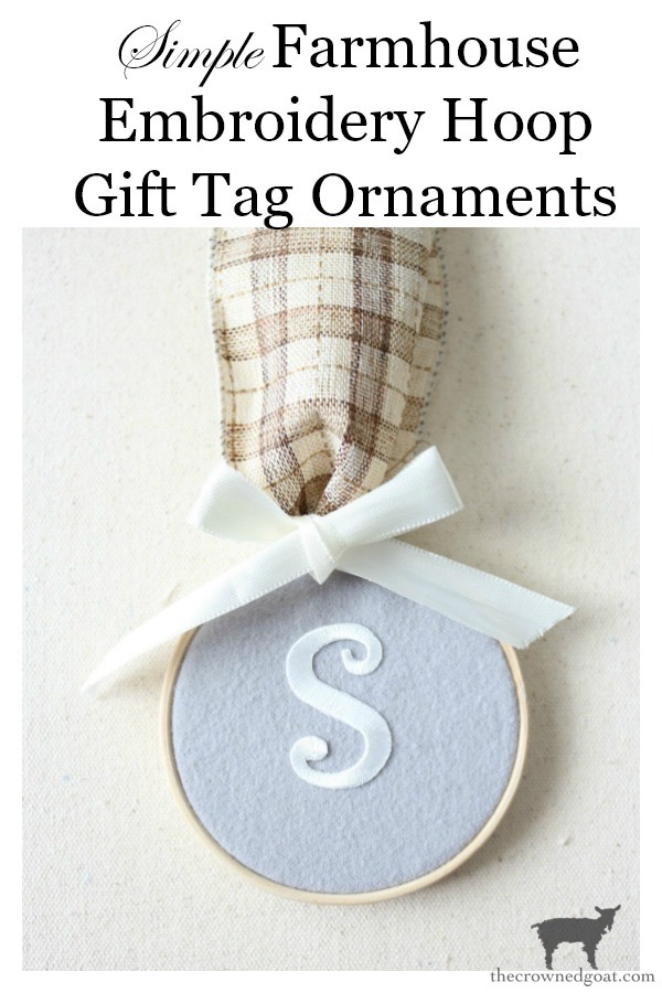 Farmhouse-Embroidery-Hoop-Gift-Tag-Ornament-The-Crowned-Goat-23 Farmhouse Embroidery Hoop Gift Tag Ornaments Christmas Crafts Holidays