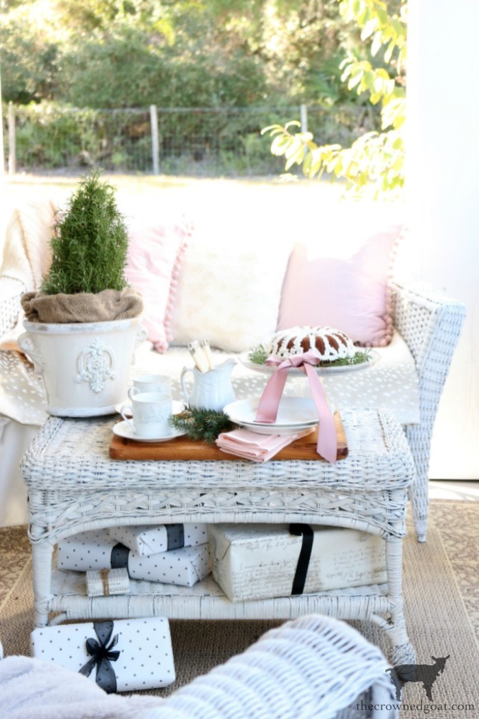 Soft-Romantic-Christmas-Porch-The-Crowned-Goat-6 Soft & Romantic Farmhouse Christmas Porch Christmas Holidays