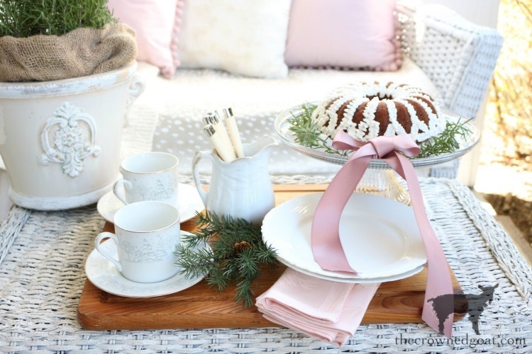 Soft-Romantic-Christmas-Porch-The-Crowned-Goat-7 Soft & Romantic Farmhouse Christmas Porch Christmas Holidays