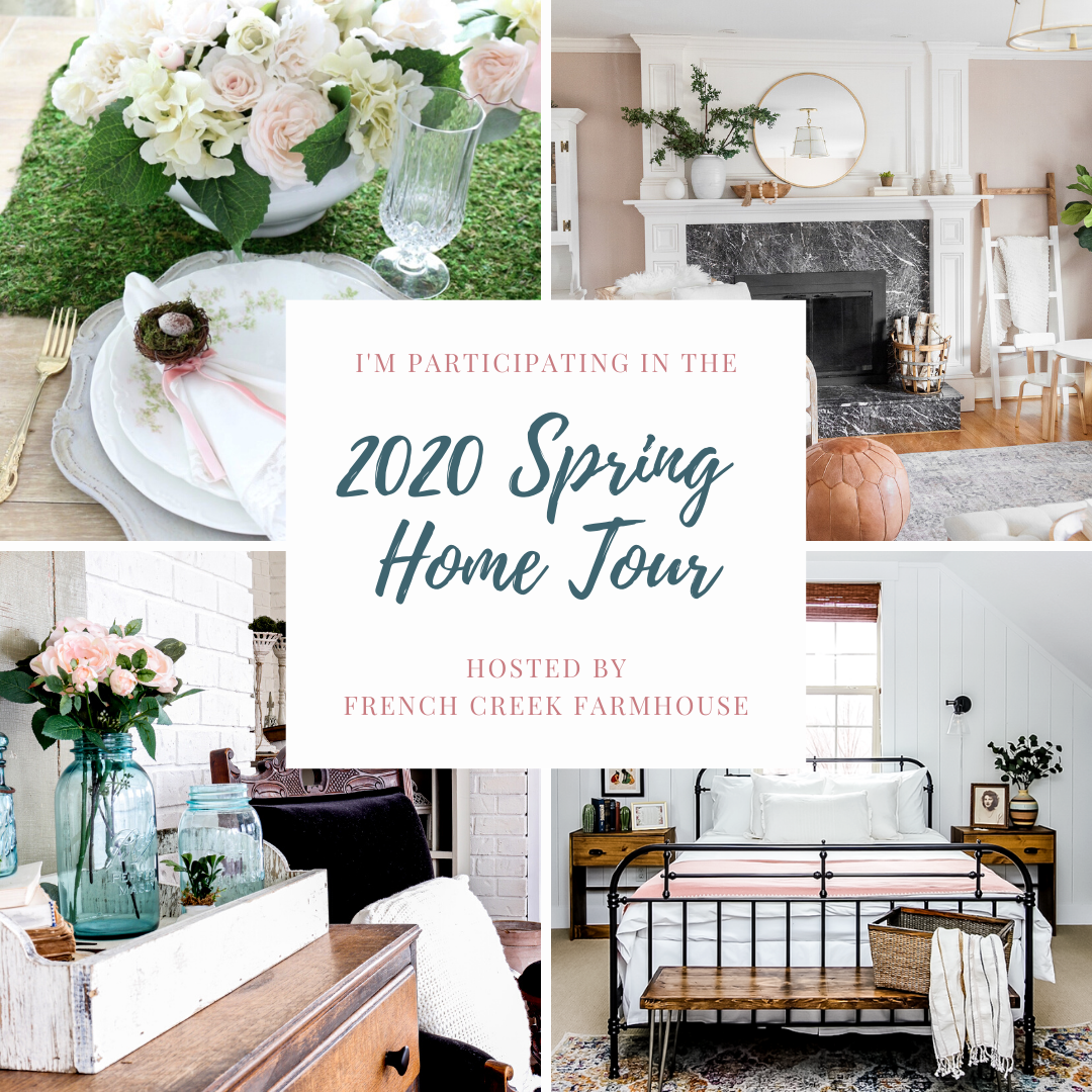 Group-Graphic Spring Flowers Inspired Tablescape & Blog Hop Decorating Holidays Spring