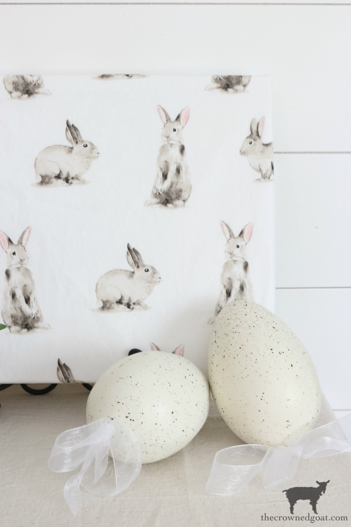 Quick-Easy-Spring-Bunny-Art-The-Crowned-Goat-1 Quick & Easy Spring Bunny Art Crafts Decorating Holidays Spring