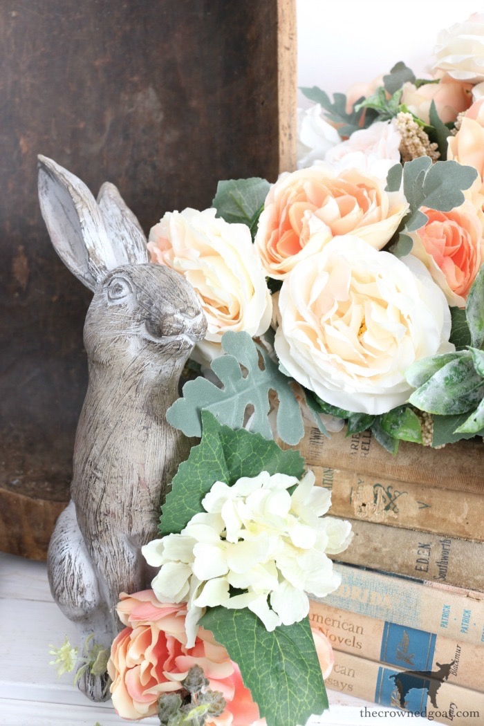Simple-Spring-Dough-Bowl-Centerpiece-The-Crowned-Goat-7 Simple Spring Dough Bowl Centerpiece Holidays Spring