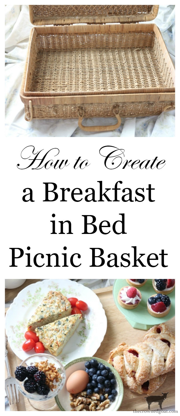 How-to-Create-a-Breakfast-in-Bed-Picnic-Basket-6 Breakfast in Bed Picnic for Mother's Day DIY Holidays Spring