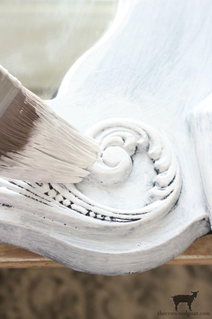 DIY-European-Farmhouse-Mirror-Makeover-The-Crowned-Goat-11 DIY European Farmhouse Mirror Makeover Decorating DIY Painted Furniture
