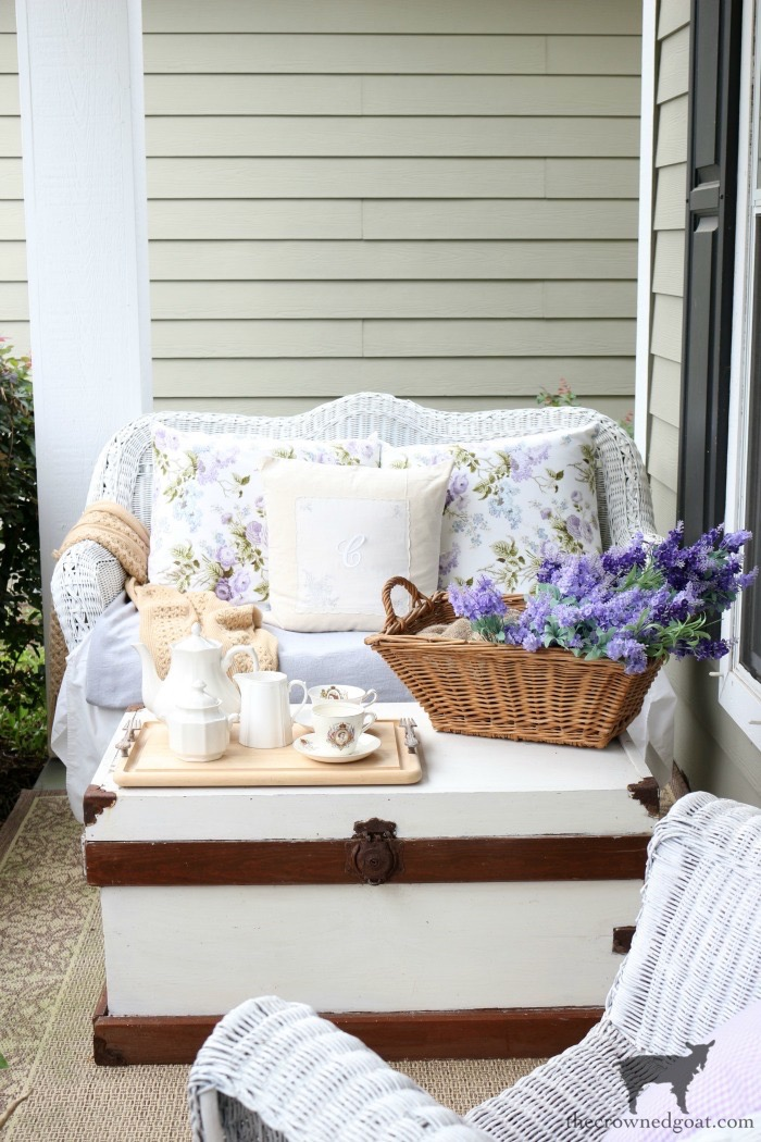 Summer-Porch-Tour-The-Crowned-Goat-8 Cottage Inspired Summer Porch Tour Decorating DIY Summer
