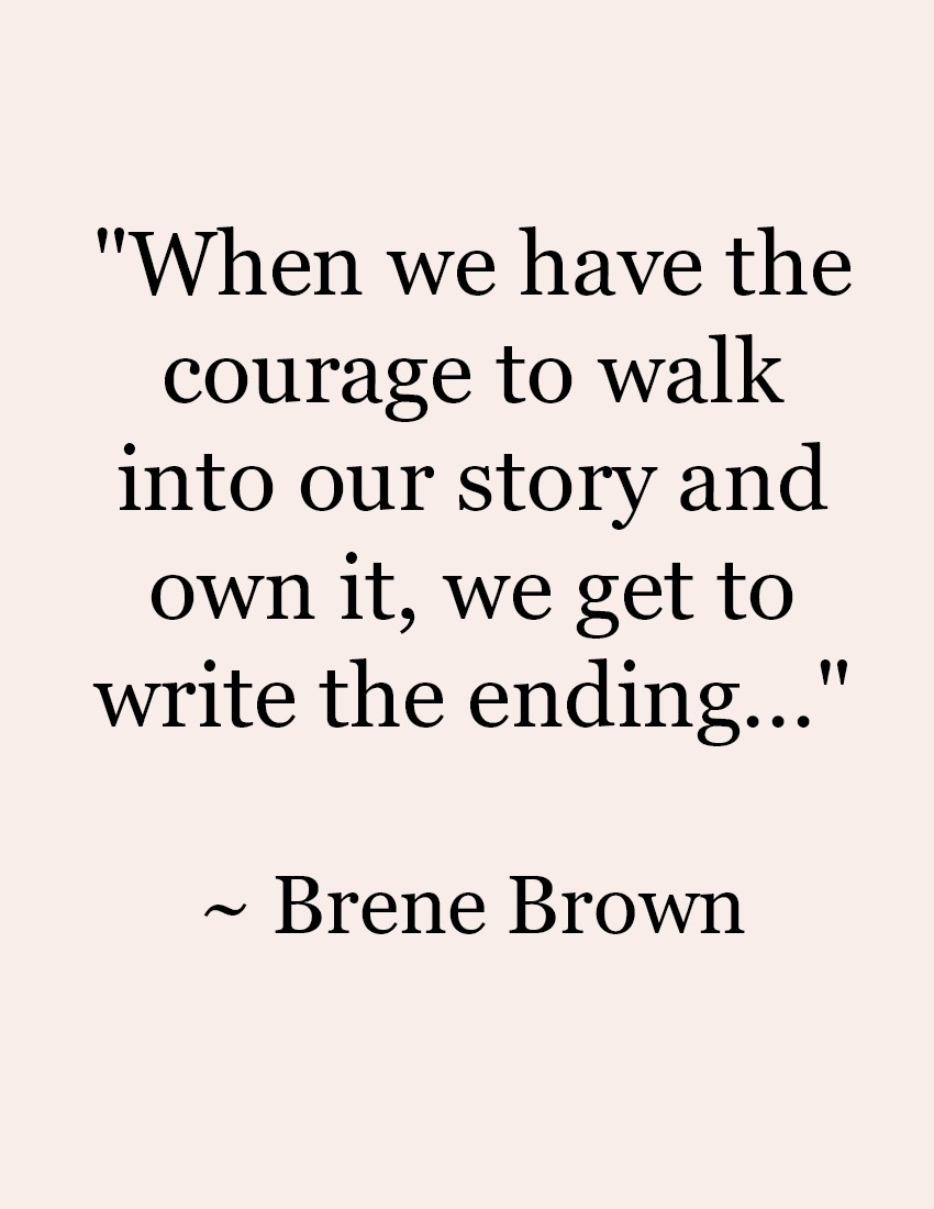 Brene-Brown-Quote From the Front Porch From the Front Porch