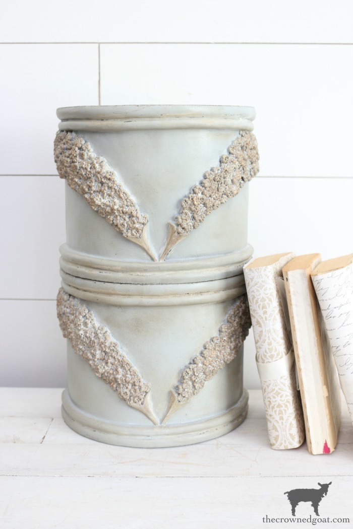 DIY-French-County-Bookends-The-Crowned-Goat-24 DIY French Country Bookends Decorating DIY Painted Furniture