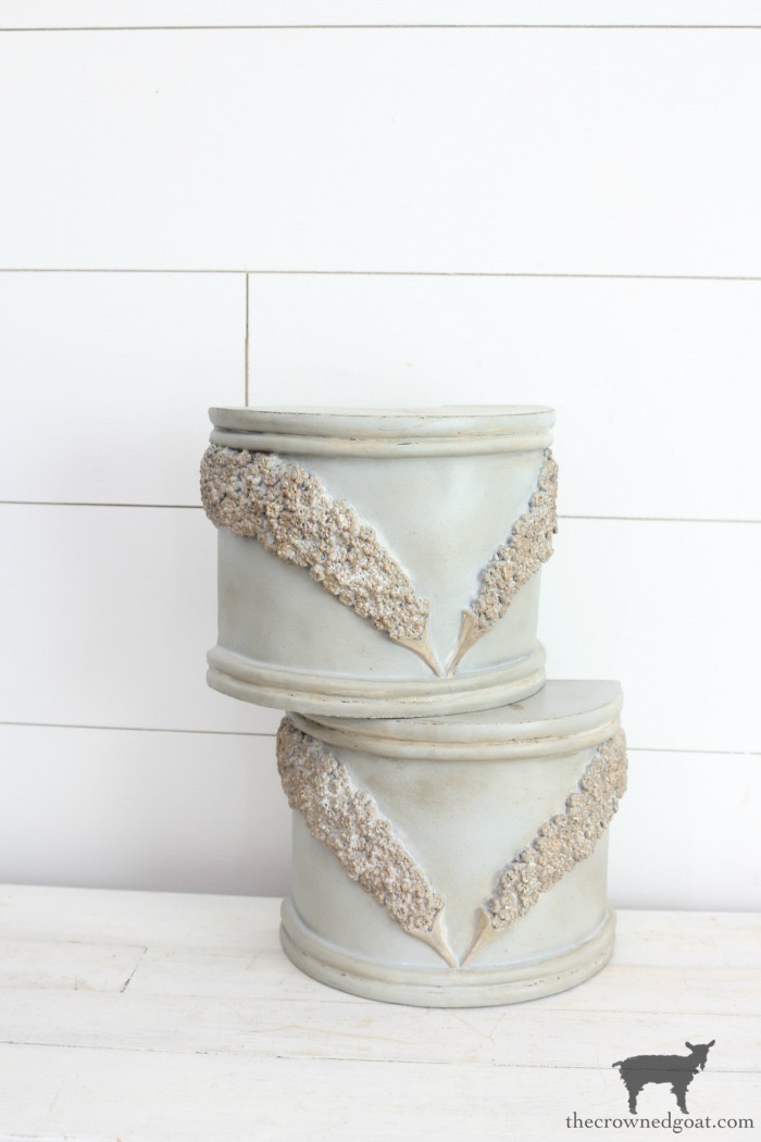 DIY-French-County-Bookends-The-Crowned-Goat-5 DIY French Country Bookends Decorating DIY Painted Furniture