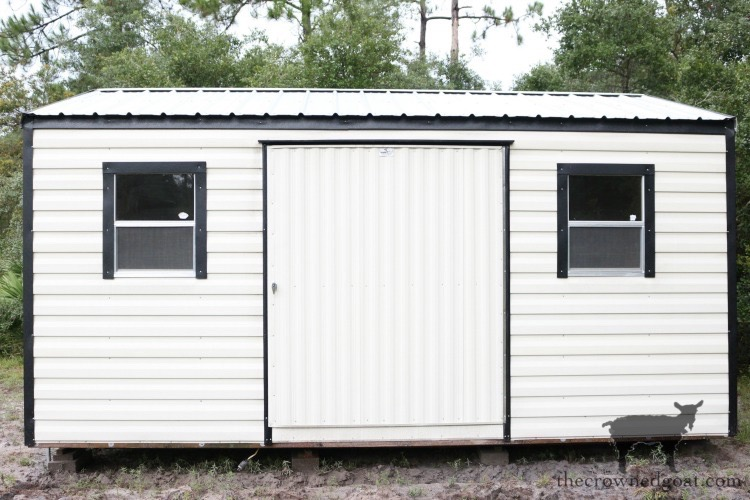 Metal-Shed-Makeover-Plans-The-Crowned-Goat-2 Metal Shed Makeover Plans DIY