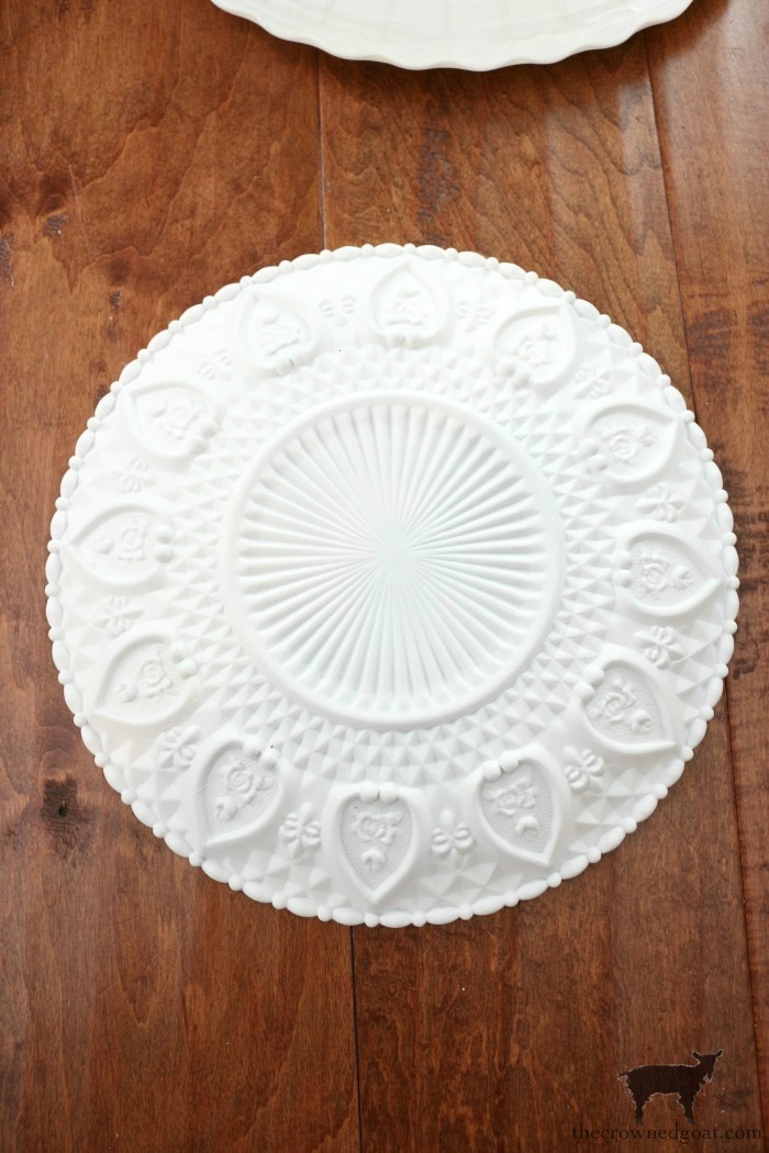 DIY-Faux-Milk-Glass-Cake-Stand-The-Crowned-Goat-12 How to Make a Faux Milk Glass Cake Stand Crafts DIY Fall Holidays