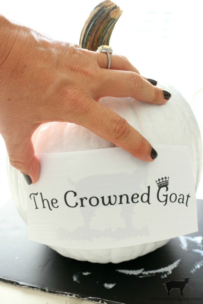 How-to-Customize-a-Painted-Pumpkin-The-Crowned-Goat-12 How to Personalize Pumpkins with Paint Fall Holidays