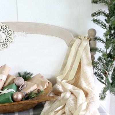 Effortless Christmas Entry Decor