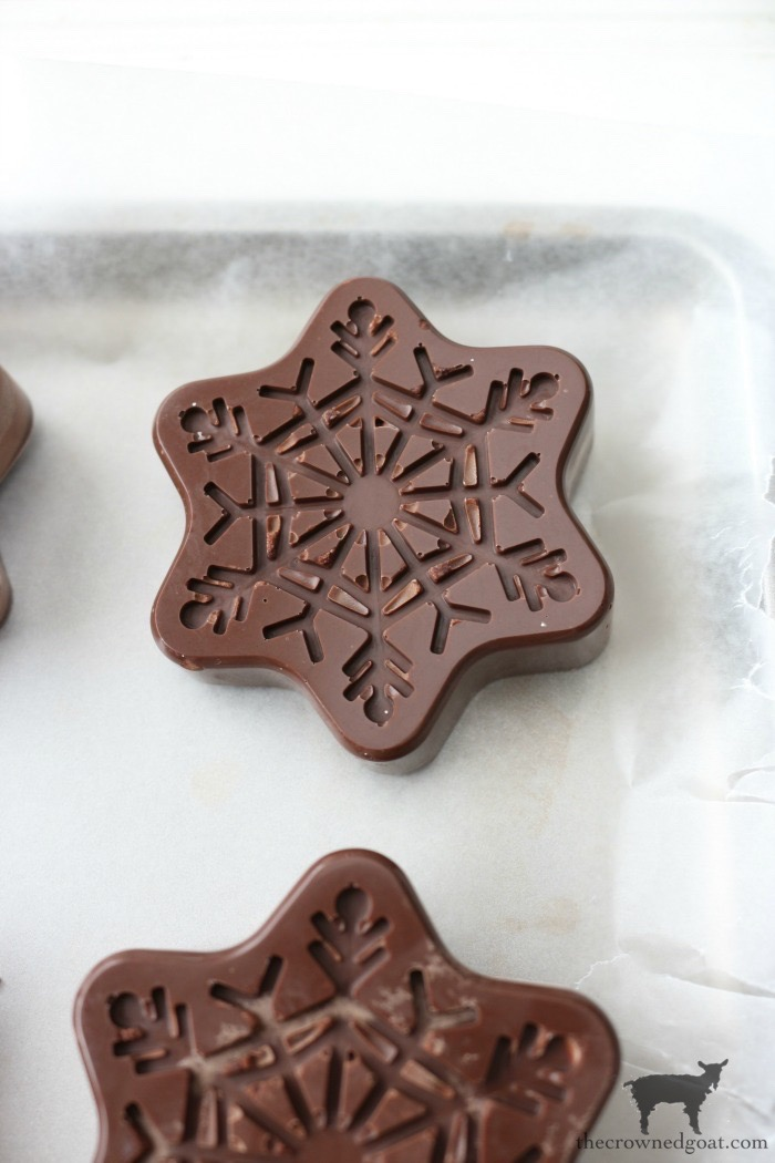 Chocolate-Covered-Oreo-Snowflake-Cookies-The-Crowned-Goat-13 Chocolate Covered Oreo Snowflake Cookies Baking Christmas Holidays