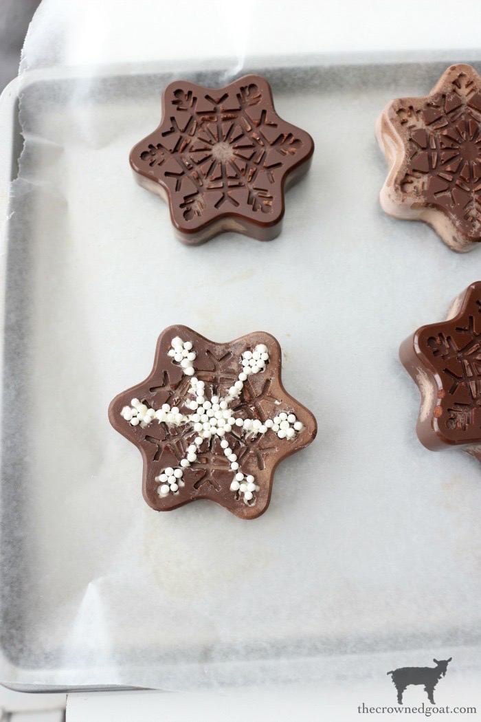 Chocolate-Covered-Oreo-Snowflake-Cookies-The-Crowned-Goat-15 Chocolate Covered Oreo Snowflake Cookies Baking Christmas Holidays