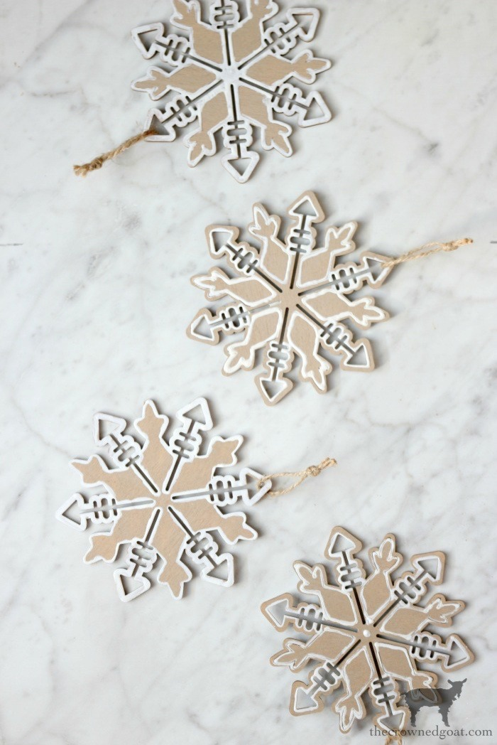 DIY-Gingerbread-Snowflake-Ornaments-The-Crowned-Goat-2-1 DIY Gingerbread Snowflake Ornaments Christmas Crafts Holidays