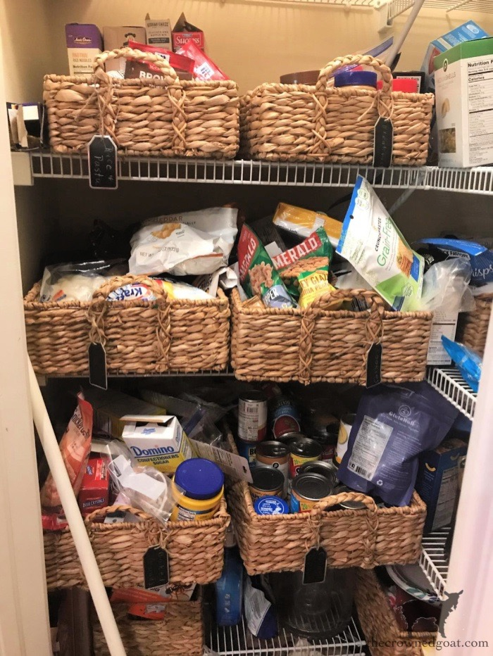 Tips-for-Organizing-a-Small-Pantry-The-Crowned-Goat-2 5 Tips for Organizing a Small Pantry Bliss Barracks Organization