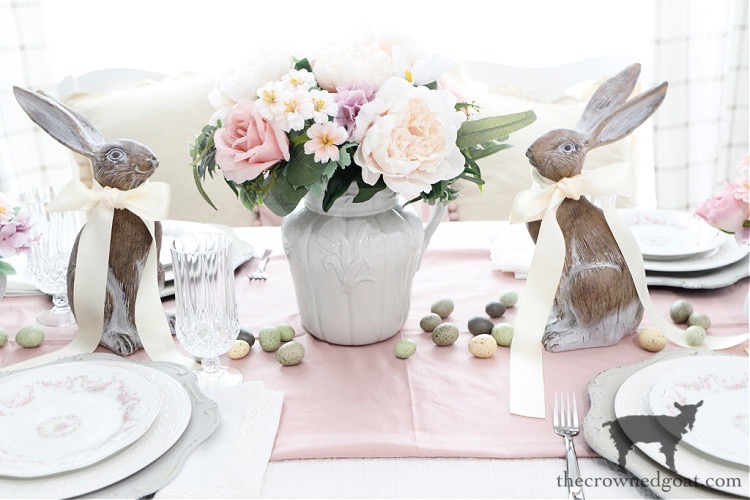 Easy-Spring-Tablescape-Ideas-The-Crowned-Goat-6 Easy Spring Tablescape Ideas Holidays Spring