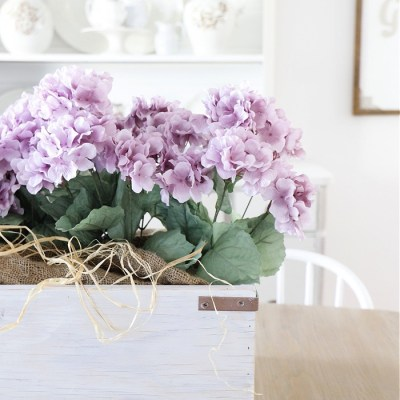 Spring Window Box Centerpiece