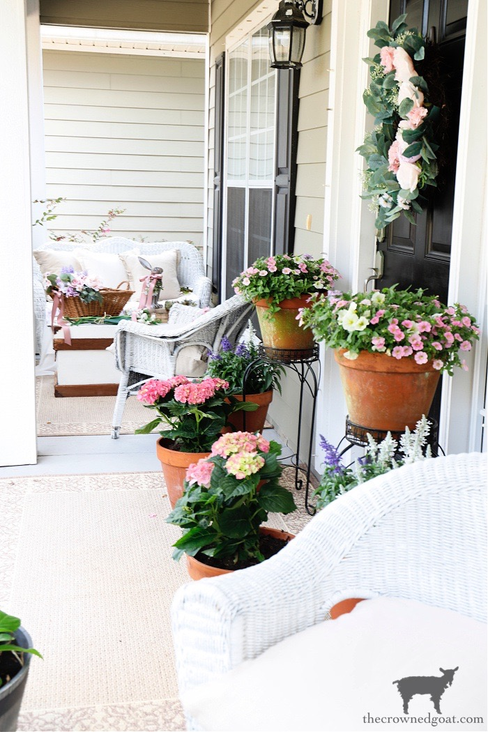 Spring-Flowers-Spring-Porch-Tour-The-Crowned-Goat Spring Flowers Porch Tour Holidays Spring