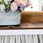 Styling-a-Console-Table-from-an-Old-Door-The-Crowned-Goat Project Portfolio