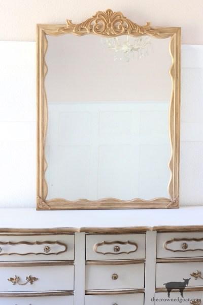 DIY Anthropologie Inspired Mirror