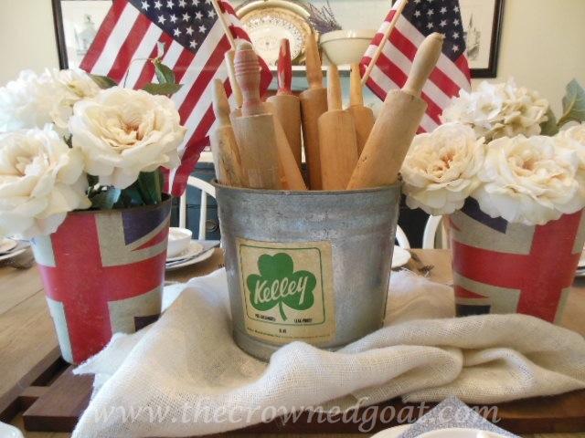 Patriotic Inspiration: Tablescapes