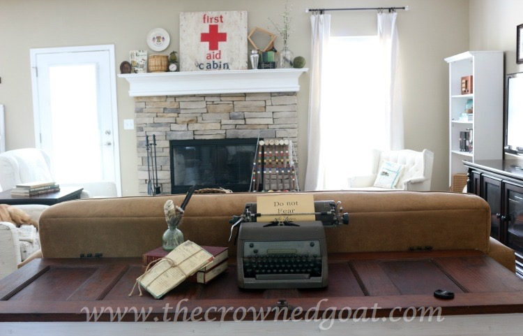 Easy Living Room Updates - The Crowned Goat - 061715-7