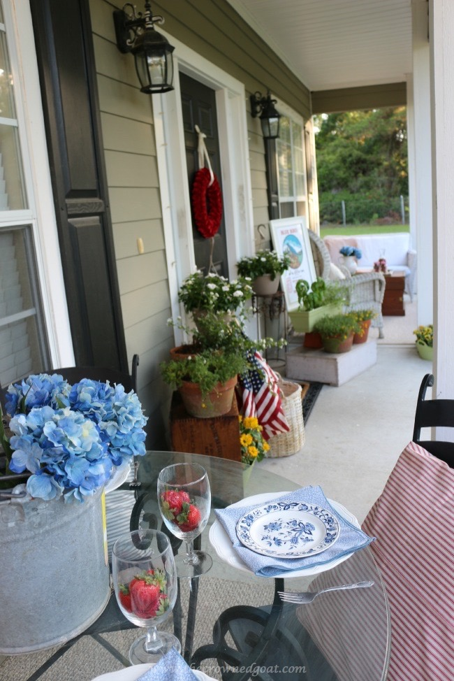 Summer Inspired Porch - The Crowned Goat -060215-4