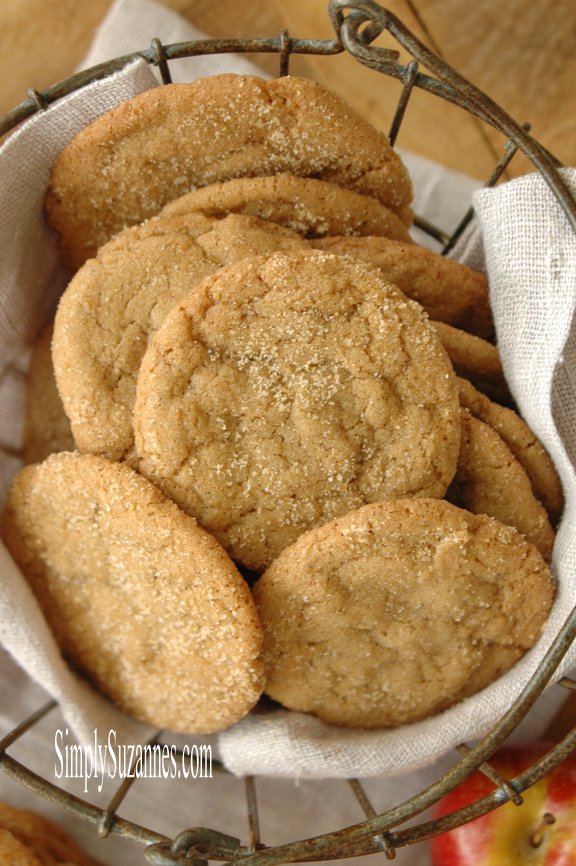 Simply Suzanne's pumpkin spice browned butter cookies
