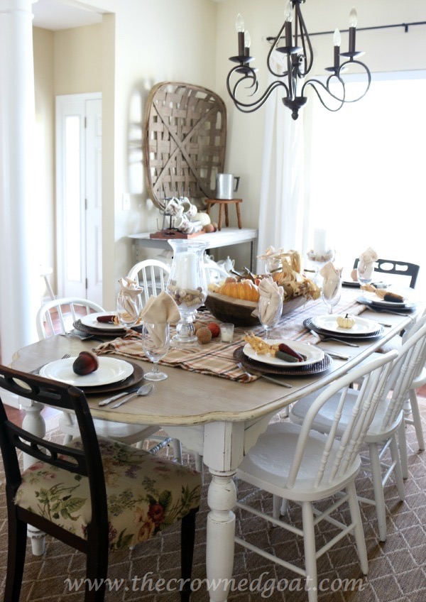 Thanksgiving Inspired Tablescape